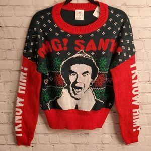 Elf Christmas Sweater Women's Small #H12